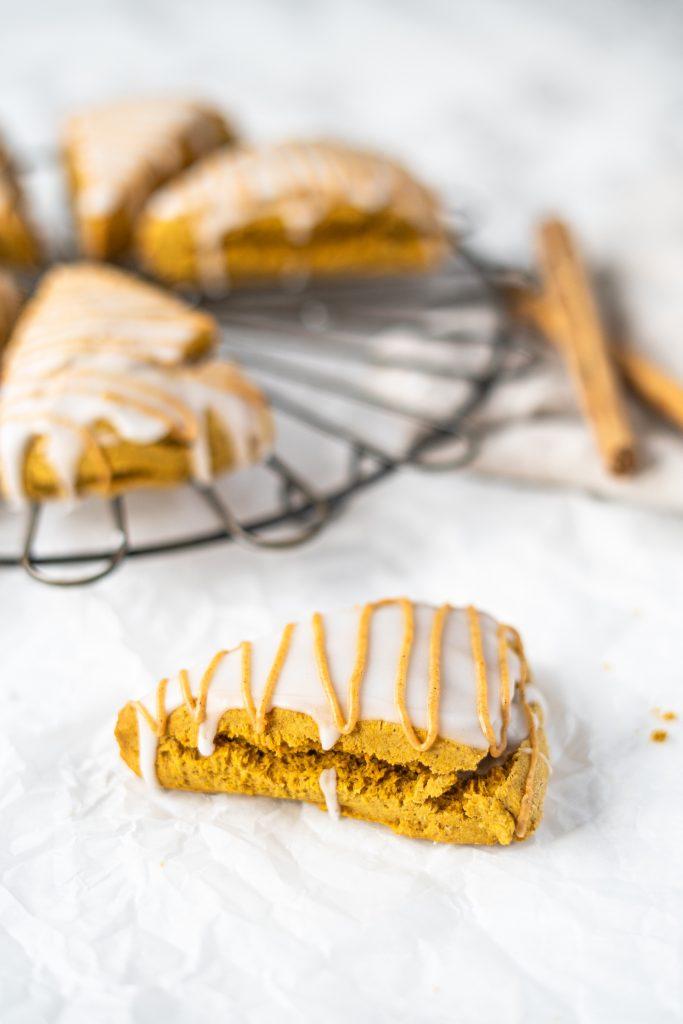 gluten-free pumpkin scone