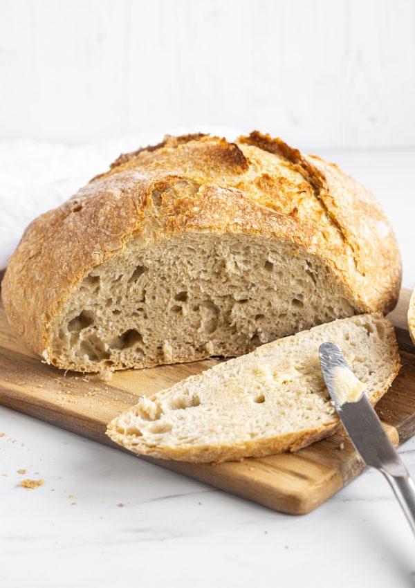 Beginner Dutch Oven Bread