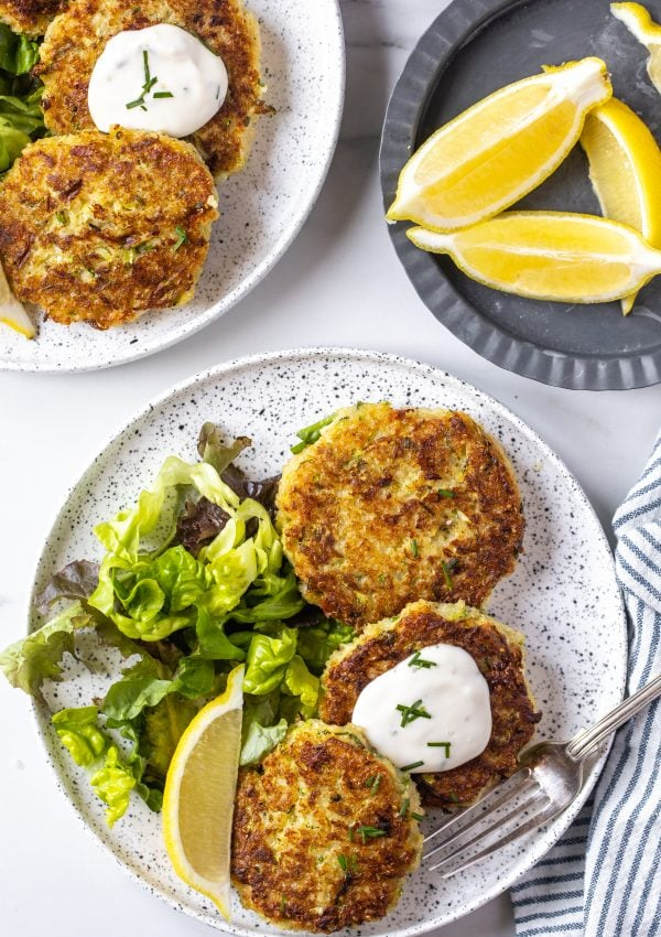 Courgette and Quinoa Fritters